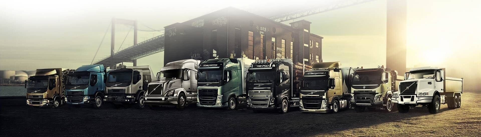 Volvo Trucks Europe Referenzbericht Header
